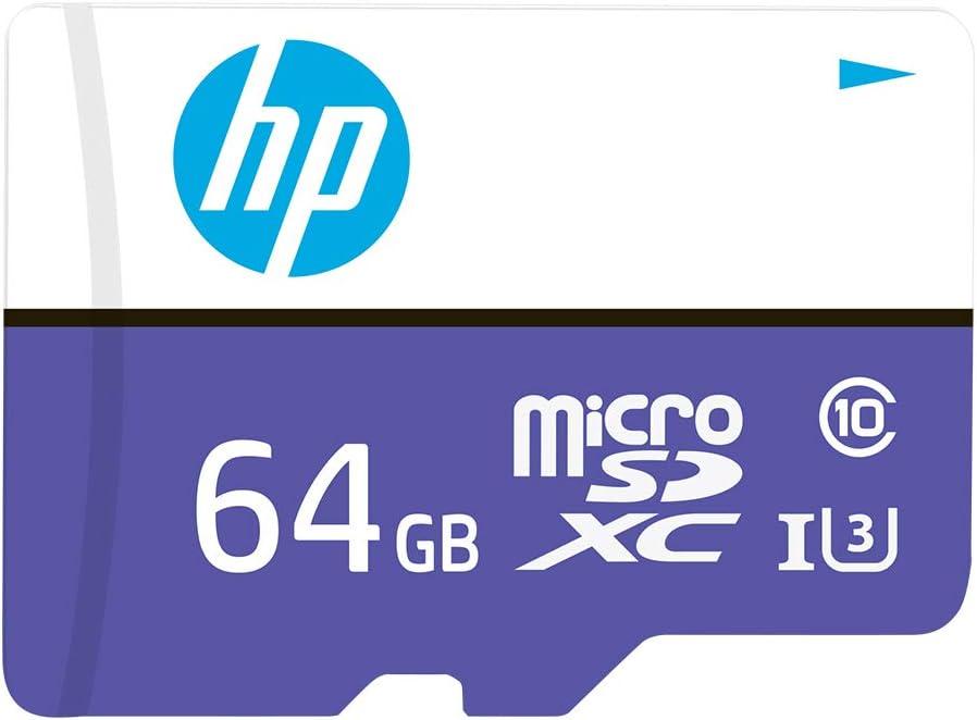 HP 64GB MX330 Class 10 U3 MicroSDXC Flash Memory Card