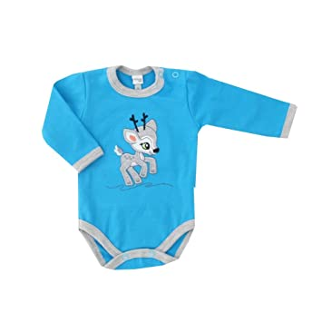 Hose blau grau Motiv: Reh Babyset 2 Teile mit Rehkitz f/ür Neugeborene /& Kleinkinder 56 Gr/ö/ße: 1 Monat Koala Baby Baby Set Shirt