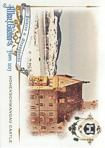 (2013 Topps Allen and Ginter Palaces and Strongholds #HP Hohenschwangau Castle - NM)
