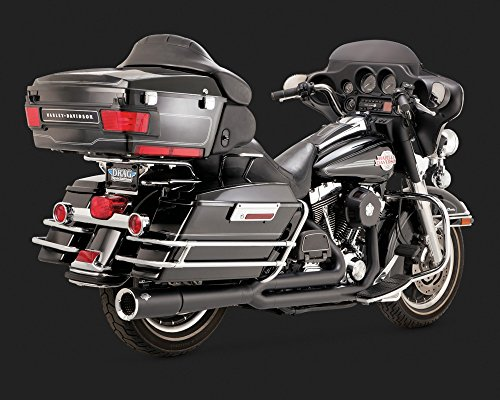 Vance and Hines 2-into-1 Pro Pipe Exhaust System for Harley Davidson 1999-2008 - One - Hines Pipe Pro