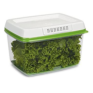 Rubbermaid FreshWorks 17.3 Cup Large Produce Saver, Green