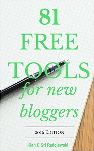[BOOK] Blogging: 81 Free Tools for New Bloggers - 2017 Edition<br />[T.X.T]