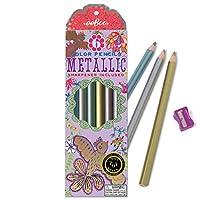 eeBoo Gold Birds Metallic Pencils