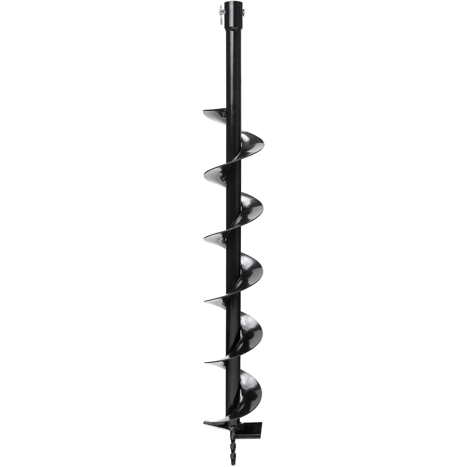 Auger Post Hole Digger Bits 4' x 32' Deep Professional Fence Holes 3/4' Shaft - Perfect for Quickly Digging Holes to Install Fence Posts, Decks, Planting Trees, Shrubs, Ice Fishing, and More! KapscoMoto