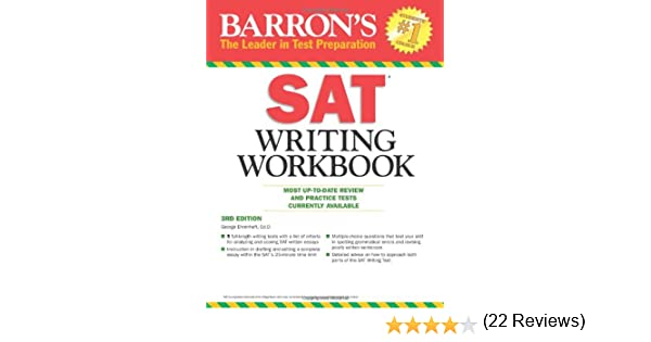 Amazon.com: Barron's SAT Writing Workbook, 3rd Edition (Barron's ...