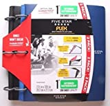 Five Star Flex NoteBinder -  1 Inch Capacity, 11.5 x 11 Inches, Notebook and Binder All-in-One - 2 Pack - Multi Colored