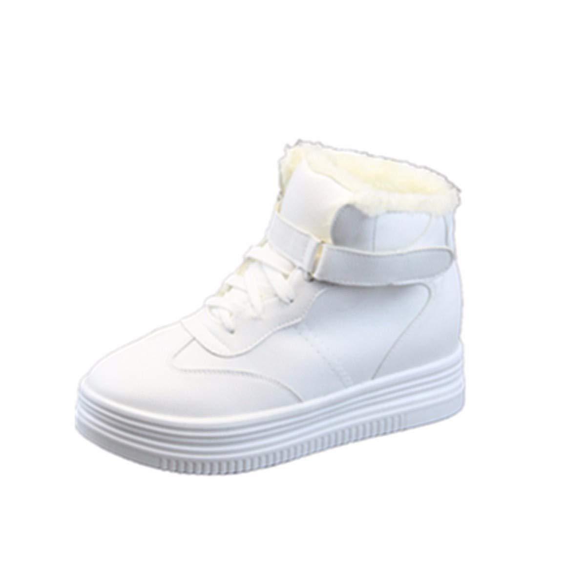 KPHY Damenschuhe/Damenschuhe Wintersport Casual Schuhen SAMT Hohe Schuhe Baumwolle Schuhe Höhere