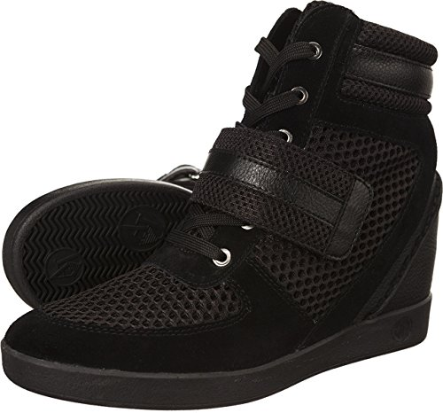 Armani Jeans Leather Sneaker 7P561-00020 Damen Sneaker (black)