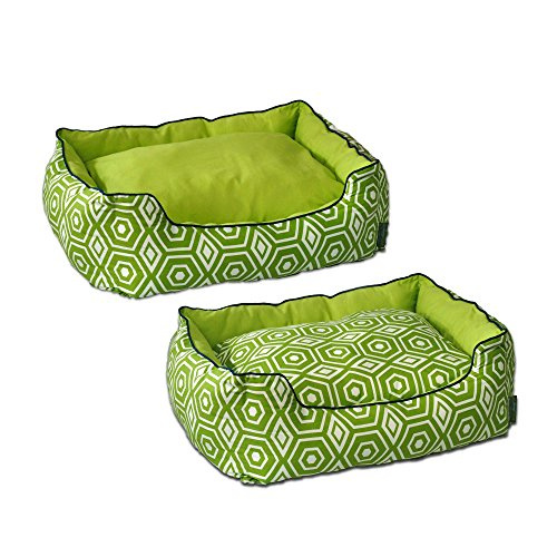 ez living home Honeycomb Couch Bed, Lime, S 24x21x8