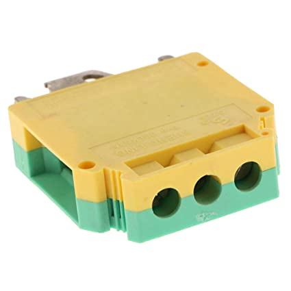 Global Mantra DIN Rail Mount Terminal Block 3 Ways 150A