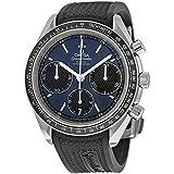 Omega Montre pour homme chronographe automatique caoutchouc 32632405003001