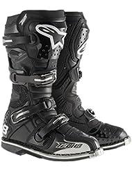 Alpinestars Unisex-Adult Tech 8 RS Boots (Black, Size 15)