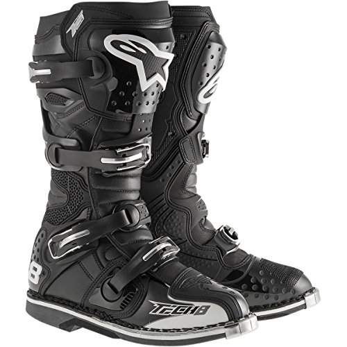 Alpinestars Unisex-Adult Tech 8 RS Boots (Black, Size 15)