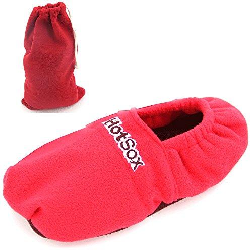 Semi Taglia Hot Microonde Riscaldante 40 38 Di In Red Scaldapiedi Sox® Lino Pantofole x6qTfwYvq