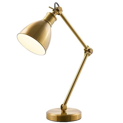 CYHX Lámpara de Escritorio American Simple Creativo Ajustable ...