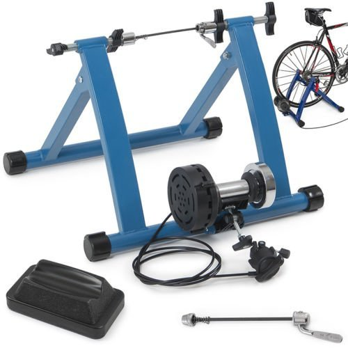 Eight24hours Indoor Mountain/Road Bike Magnetic Resistance Trainer 7 Levels Exercise Machine - B3