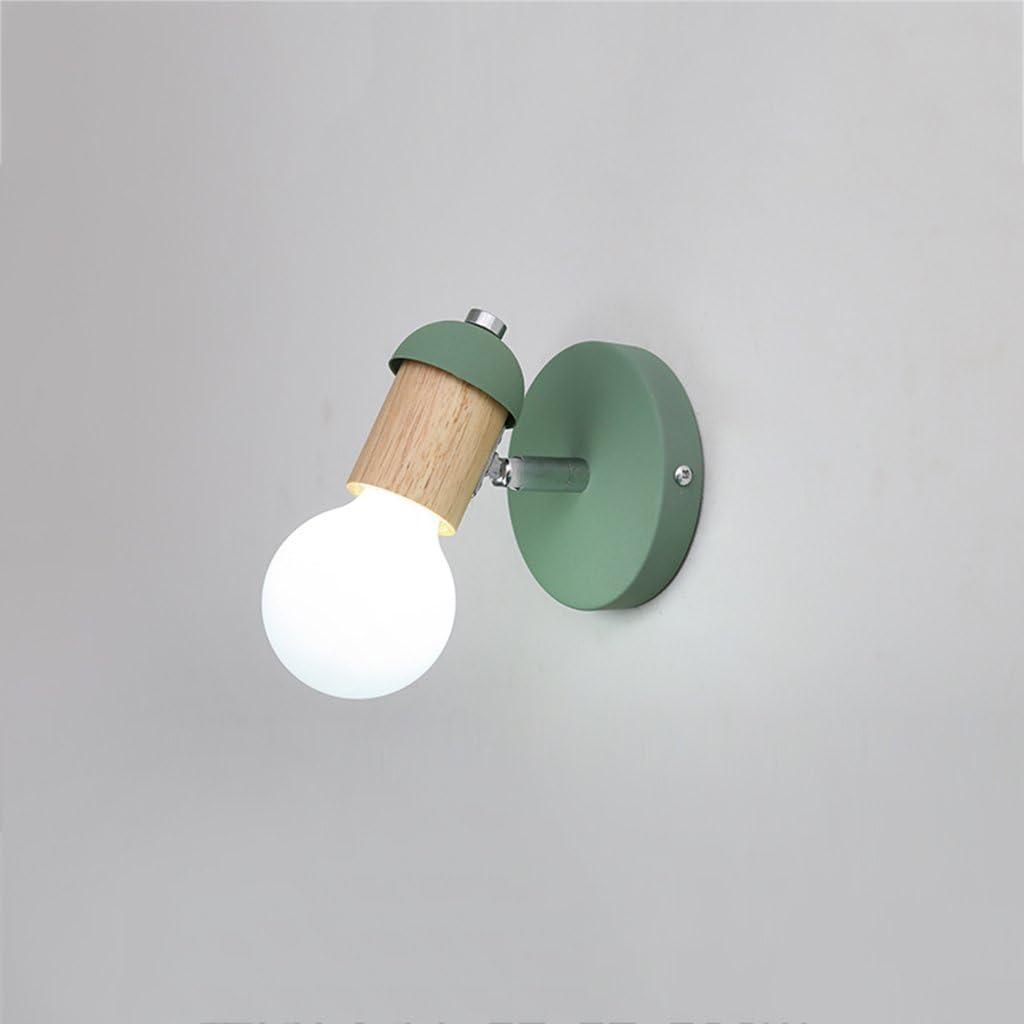 Farbe : Gray Wand-Lampe f/ür Nachttisch und Eingang justierbare Winkel-Eitelkeits-Leuchte Bad Wandleuchte Badezimmer-Spiegel-vorderes Licht-Aufbereiter-Make-uplicht