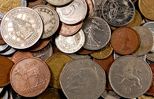 Kenauh 5 Pounds of World Coins - Approximately 500 ()