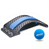 SUNANTH Back Stretcher, Lumbar Stretching Device with 3Adjustable Settings for Upper...