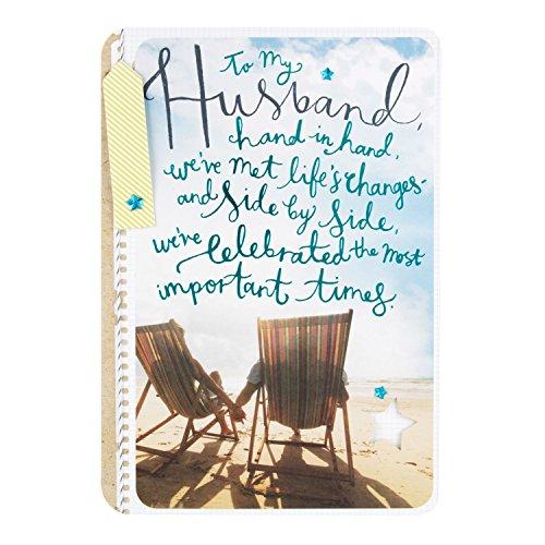Hallmark 25448330 Husband Birthday Card I Love You