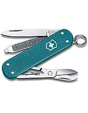 Victorinox Fickkniv Classic SD Alox (5 funktioner, blad, nagelfil, sax), liten
