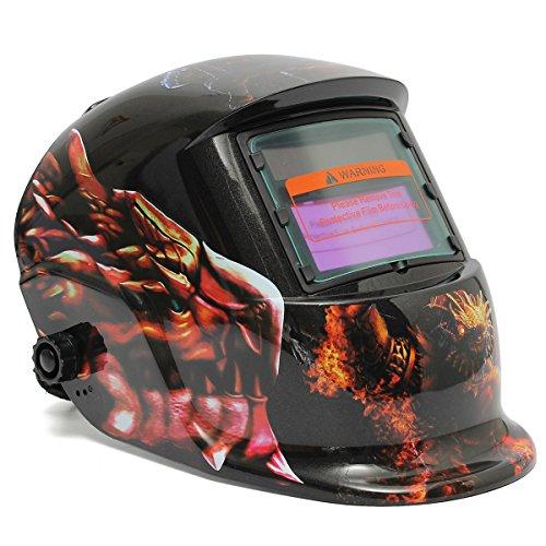 Dinosaur Solar Auto-Darkening Welding Helmet Welder Grinding - Sunglasses Darkening Auto