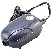 Wuqiong Mini Silent Air Pump kraftfull syrepump 220 V akvarium kompressorpump fisk sköldpadda tank brusreducering