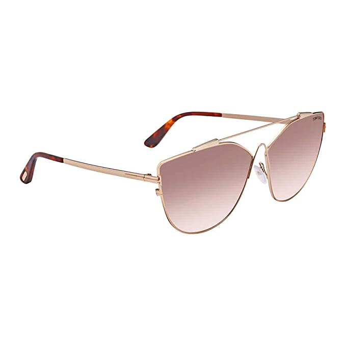 Amazon.com: anteojos de sol TOM FORD ft 0563 jacquelyn- 02 ...