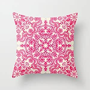 Pillowcases The pink art pattern 18x18(inches)