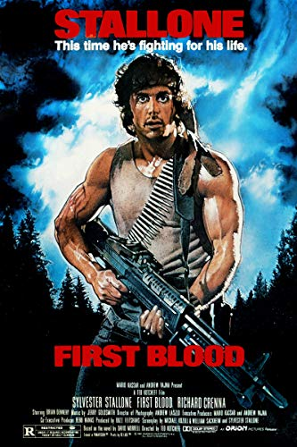 Rambo First Blood - Movie Poster - Size 24