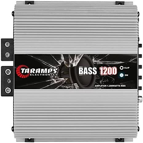 Taramp's BASS 1200 2 Ohms 1.2K Watts Class D Full Range Mono Amplifier