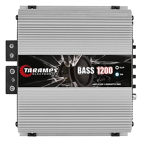 Taramp's BASS12001OHM Tara 1200 Watt 1 Ohm Bass Amp - 1200 Bass Amplifier
