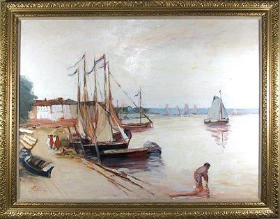 (Seaside Sailboats)