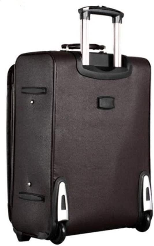 Size Aishanghuayi Suitcase for Large Capacity Rotating Lightweight PC 36 24 54 cm Color : Black, Size : 362454cm Black ABS Built-in TSA Lock Suitcase