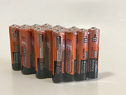 100 AA Batteries Extra Heavy Duty 1.5v. 100 Pack Wholesale Bulk Lot New Fresh