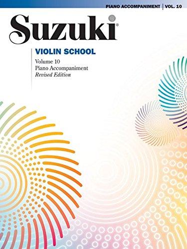 Suzuki Violin School, Vol 10: Piano Acc.