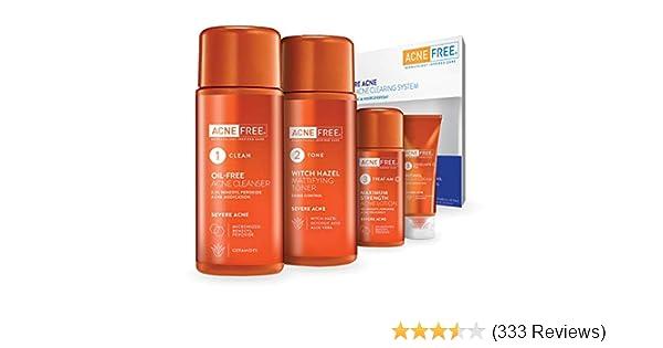 Amazon Com Acnefree Severe Acne Treatment System Facial