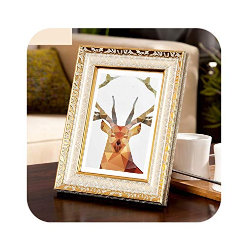 4 Colors Vintage Photo Frame Gold Picture Frame