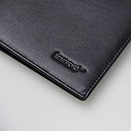 Innoo Tech RFID Blocking Wallet Genuine Leather Stop Electronic Pick Pocketing and Identity Theft Counters Identity Theft and Credit Card Data Breaches by Blocking RFID Scans