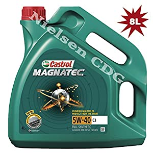 castrol magnatec 5w 40 c3 fully synthetic engine oil a3. Black Bedroom Furniture Sets. Home Design Ideas