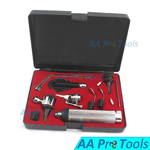 AAPROTOOLS NEW INCREDIBLE OTOSCOPE SET ENT DIAGNOSTIC INSTRUMENTS+ 2 BULB A+ QUALITY by AAPROTOOLS (Image #2)