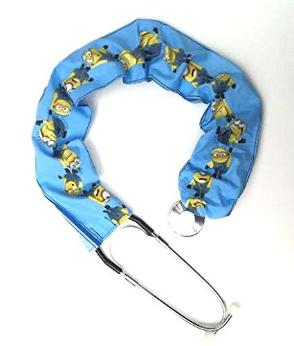 - Stethoscope Covers Handmade Variety Patterns 100% Cotton (Blue Minions)