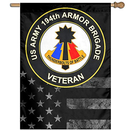 US Army 194th Armored Brigade Unit Crest Veteran Welcome Gar