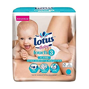 Lotus Baby Couches Touch Taille 3 De 4 A 9 Kg 44 Couches Amazon