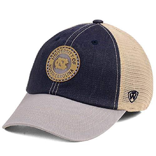 UNC North Carolina Tar Heels Hiatus Relaxed Mesh Back Stretch Fit Hat Cap (M/L) -