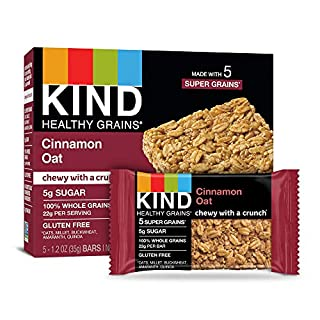 KIND Healthy Grains Bars, Cinnamon Oat, 40 Count