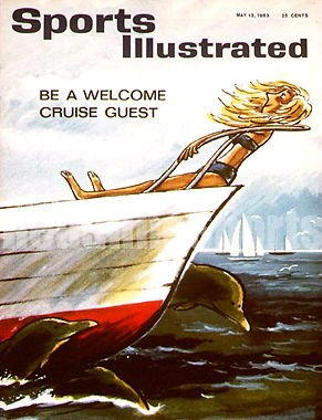 Purchase low price 1963 Cruise Vacation Label Sports Illustrated
