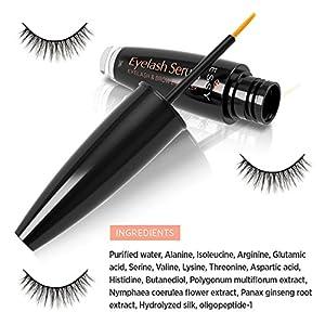 Eyelash Growth Serum for Lash and Brow Irritation Free Formula (3ML) (3 ml)