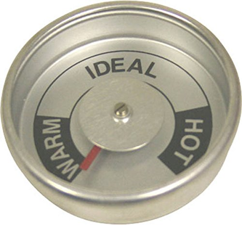 [Brinkmann Upright Smoker Temperature Gauge All-In-One Round W/ tabs 072-0006-0] (Brinkmann All In One Grill)