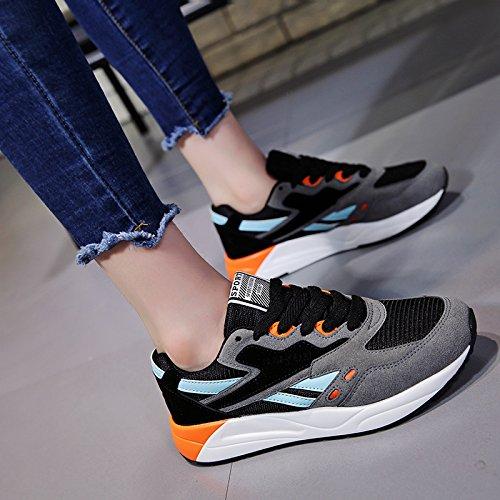 NGRDX amp;G Deportivos Mujeres De Deporte Zapatos Zapatos Casual Para Solos Zapatos Black rrqwdEOxR